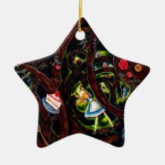 Rabbit hole christmas ornaments