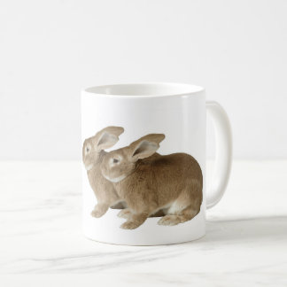 Rabbit image for White Classic Mug