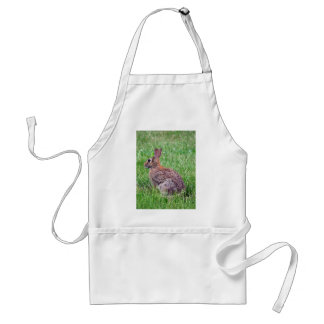 Rabbit In The Grass Apron