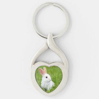 Rabbit Kiss Keychains