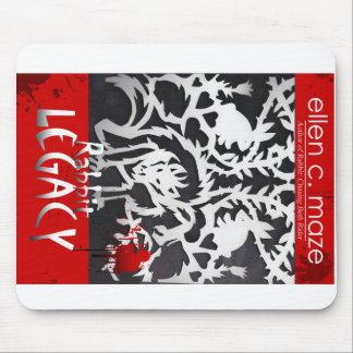 RABBIT LEGACY Vampire Novel Mouse Pad