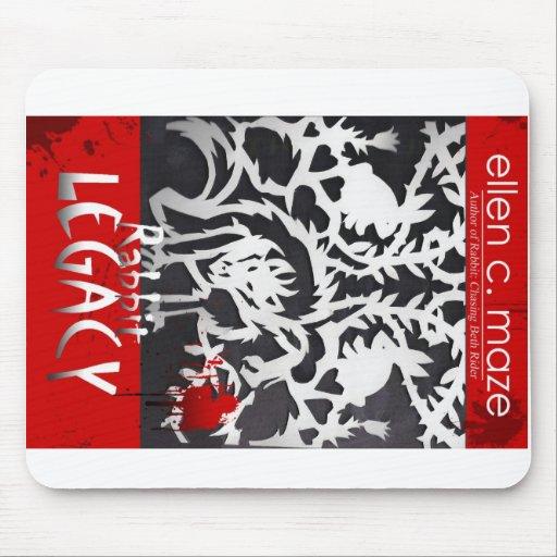 RABBIT LEGACY Vampire Novel Mouse Pads