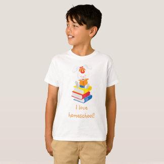 Rabbit love homeschool T-Shirt