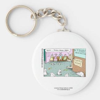 Rabbit OBGYNs Funny Key Chain Keychain