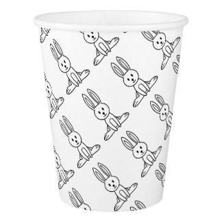 Rabbit Paper Cup