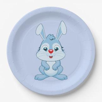 Rabbit Paper Plates