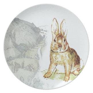 Rabbit Party Plates