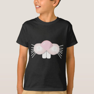 Rabbit Pink Nose and Whiskers T-Shirt