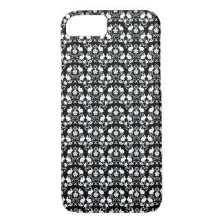 Rabbit & Rose Damask Pattern iPhone 8/7 Case