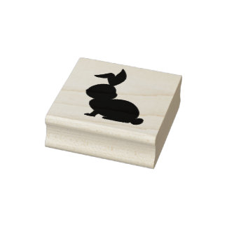 Rabbit Rubber Stamp