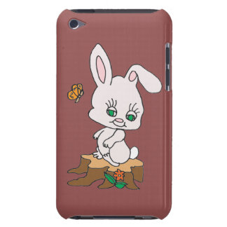 Rabbit Sitting on Stump iPod Touch Cover