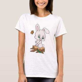 Rabbit Sitting on Stump T-Shirt