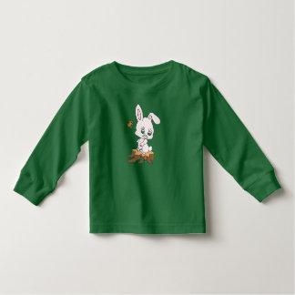 Rabbit Sitting on Stump Toddler T-Shirt