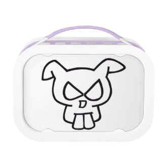 Rabbit Skull & Lion Head Lunchbox. Lunch Boxes