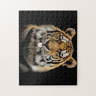 Rabbit tiger - tiger face - tiger head jigsaw puzzle