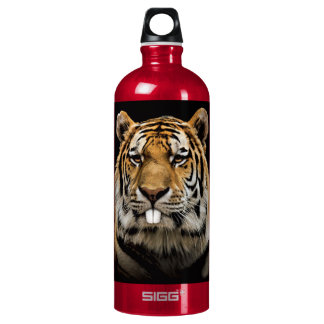 Rabbit tiger - tiger face - tiger head water bottle
