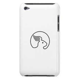 Rabbit Wing Ear Side Retro iPod Case-Mate Cases