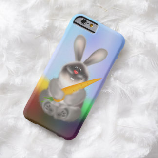 Rabbit with Carrot Barely There iPhone 6 Case