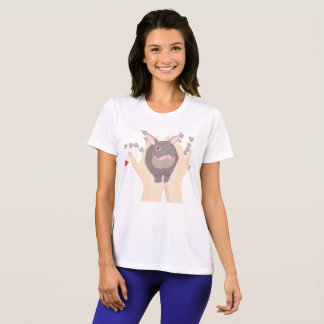 rabbit with hearts T-Shirt