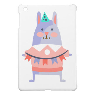 Rabbit With Party Attributes Girly Stylized Funky iPad Mini Covers