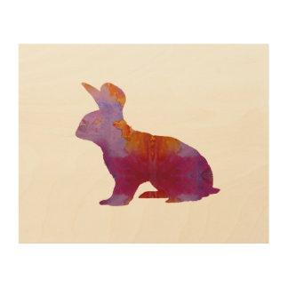 Rabbit Wood Wall Art