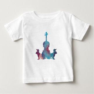 Rabbits and viola baby T-Shirt