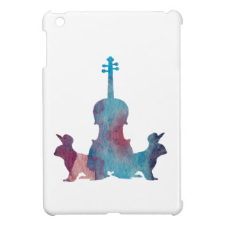 Rabbits and viola case for the iPad mini