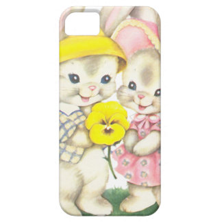 Rabbits Barely There iPhone 5 Case