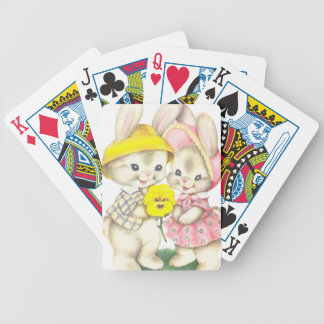 Rabbits Bicycle Playing Cards