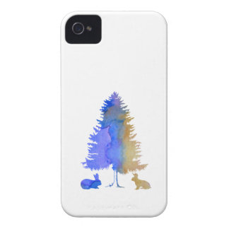 Rabbits Case-Mate iPhone 4 Case