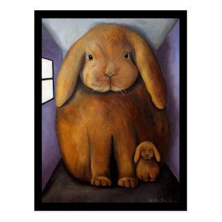 Rabbits Den Postcard