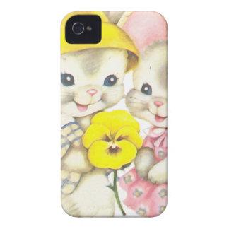 Rabbits iPhone 4 Cases