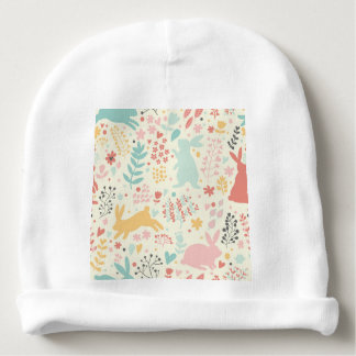 rabbits,nature,spring colours,easter,hipster,good baby beanie