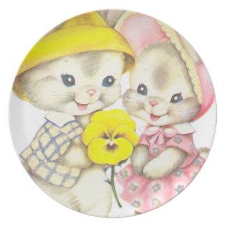 Rabbits Plate