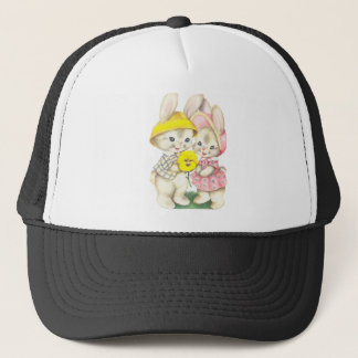 Rabbits Trucker Hat