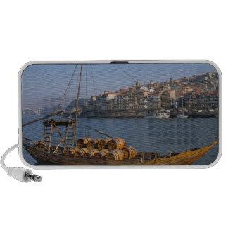Rabelo Boats Porto Portugal Mini Speakers