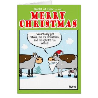 Rabid Cow Card