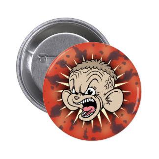 Rabid Hamster 6 Cm Round Badge