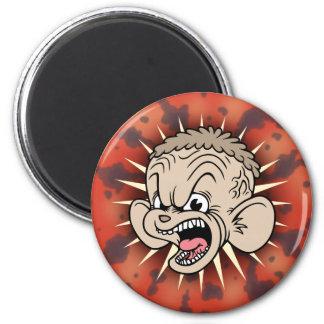 Rabid Hamster 6 Cm Round Magnet