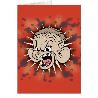 Rabid Hamster Greeting Card