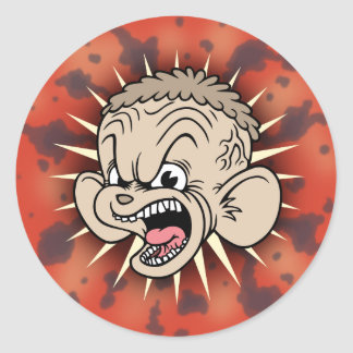 Rabid Hamster Stickers