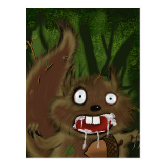 Rabid Squirrel Postcards