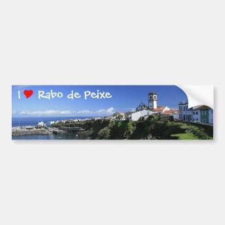Rabo de Peixe - Azores Bumper Sticker