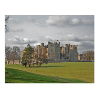 Raby Castle Postcard