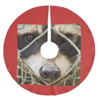 raccon on  Tree Skirt, Brushed Polyester Brushed Polyester Tree Skirt