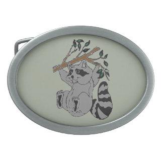 Raccoon Belt Buckle