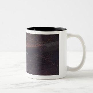 Raccoon Buddies Two-Tone Coffee Mug