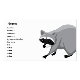 Raccoon - Business Business Cards