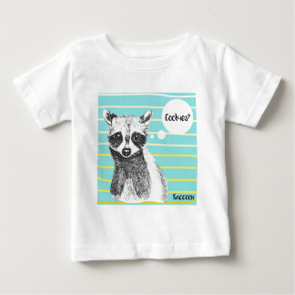 Raccoon_Cookies_113323534.ai Baby T-Shirt