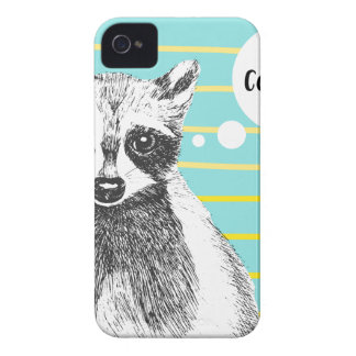 Raccoon_Cookies_113323534.ai iPhone 4 Cases